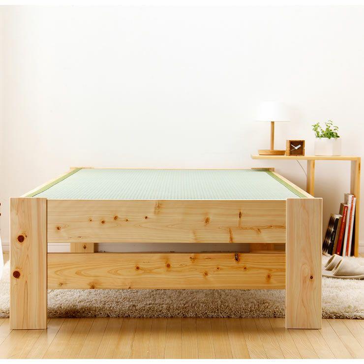 爽やかなナチュラル感の木製畳ベッドシングルサイズ_詳細19
