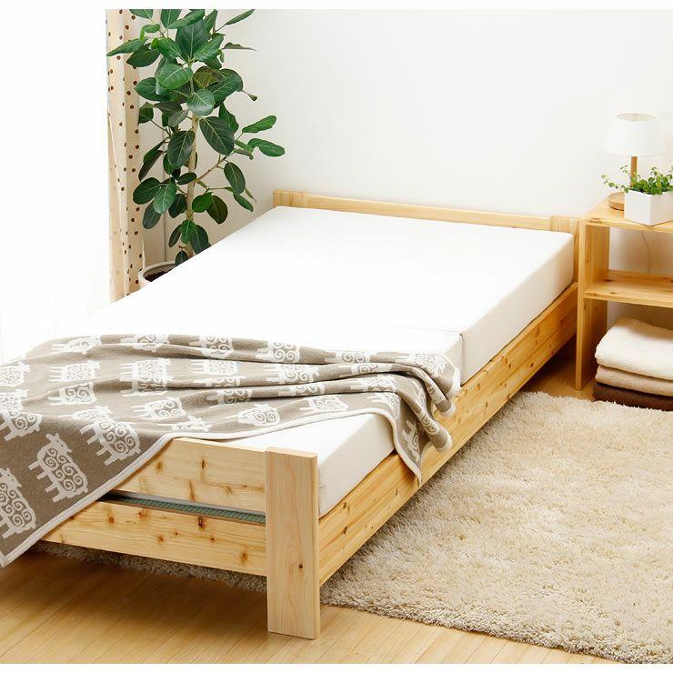 爽やかなナチュラル感の木製畳ベッドセミダブルサイズ_詳細17