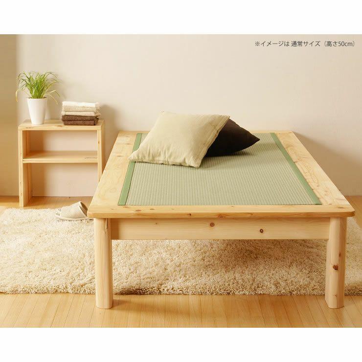 広島の家具職人が手づくりの北欧風木製テーブルひのきの木製ナイトテーブル_詳細17