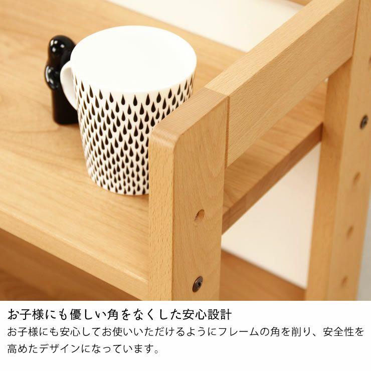女性視点デザインの木のロー書棚・本棚ラック 杉工場「MUCMOC(ムックモック)」_詳細09