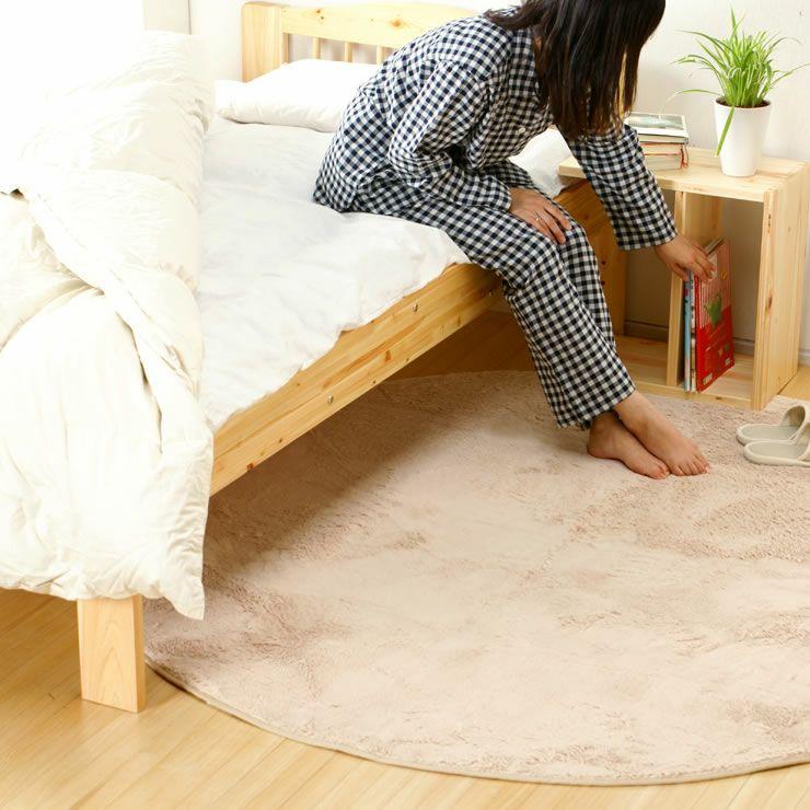 ひのき材の木製畳ベッドシングルサイズたたみ付_詳細17