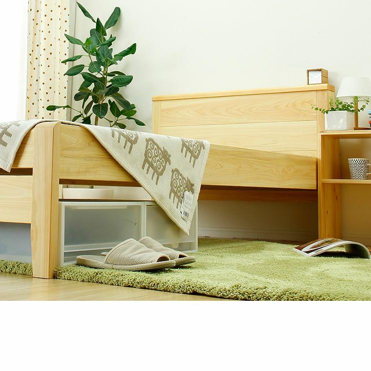 ひのき無垢材を贅沢に使用した木製畳ベッドシングルサイズ_詳細18