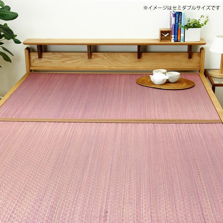 畳カラーが選べるオーク無垢材を使用した木製畳ベッドシングルサイズ_詳細18