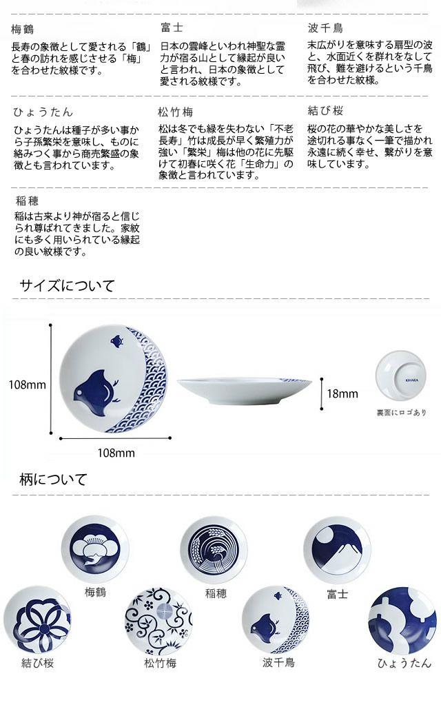 KIHARA(キハラ)KOMON豆皿(1枚)_詳細06