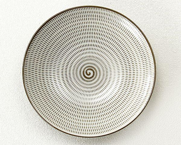 蔵人窯(くらんどがま)小石原焼平皿トビカンナ(直径22.5cm)_詳細02