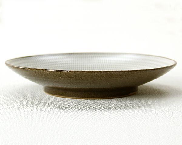 蔵人窯(くらんどがま)小石原焼平皿トビカンナ(直径22.5cm)_詳細03