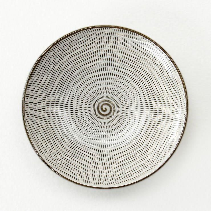 蔵人窯(くらんどがま)小石原焼平皿トビカンナ(直径22.5cm)_詳細11