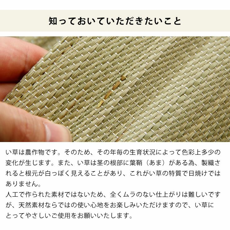 コドモノ寝ゴザ ロングサイズ(88×180cm) codomono project(コドモノプロジェクト)_詳細16