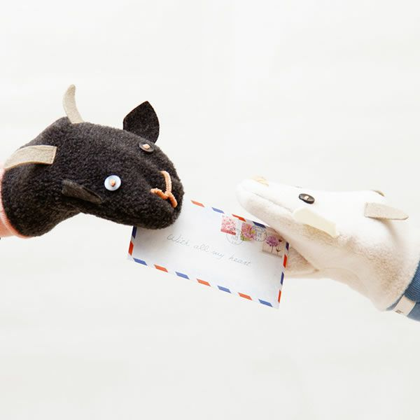 kubomi(くぼみ)白やぎ黒やぎミトン_詳細03
