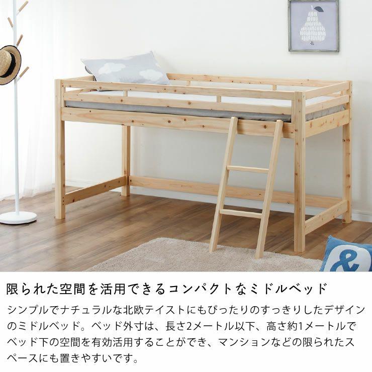 子供部屋にぴったり!お部屋を有効活用出来る万能システム・ロフトベッド_詳細05
