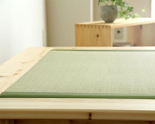 い草とひのきの香りが贅沢な木製畳ベッドセミダブルサイズ_詳細02