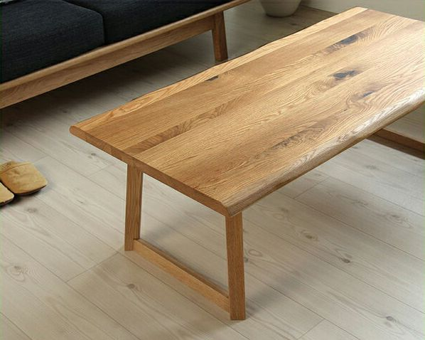 上質なナチュラル感のリビングテーブル120cm幅_詳細01