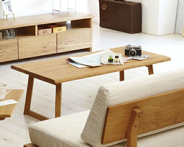 上質なナチュラル感のリビングテーブル120cm幅_詳細02