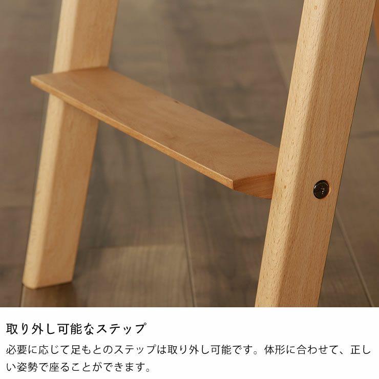 すっきりシンプルデザインの学習椅子・学習チェア 杉工場「スピカ」_詳細09