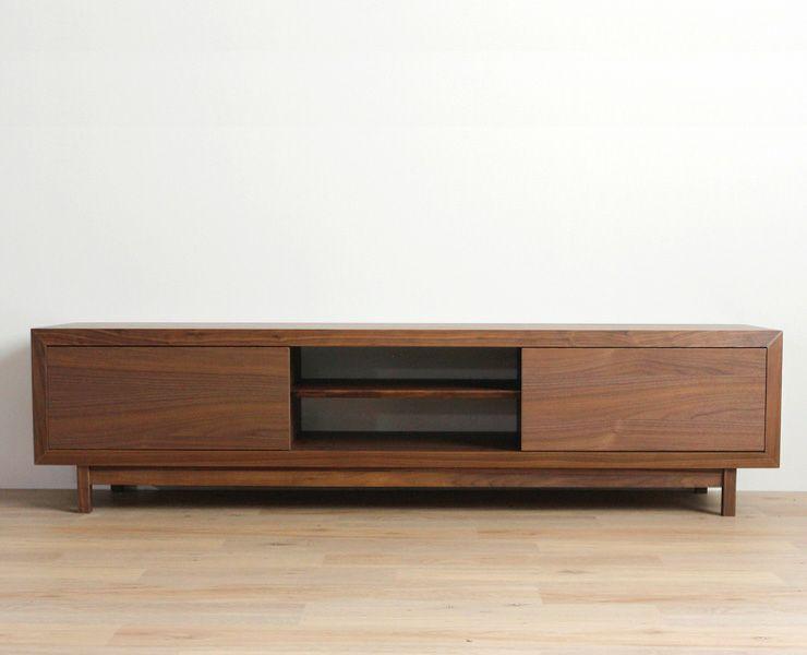 上質な存在感のある木製テレビ台・テレビボード(幅180cm)_詳細02