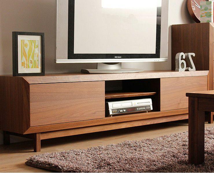 上質な存在感のある木製テレビ台・テレビボード(幅180cm)_詳細03