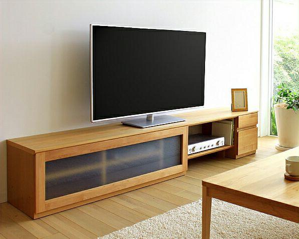 お好みに並べ替えできて使いやすい木製テレビボード・テレビ台 210cm幅(アルダー)_詳細01