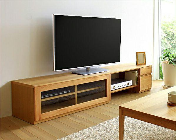 お好みに並べ替えできて使いやすい木製テレビボード・テレビ台 180cm幅(アルダー)_詳細01