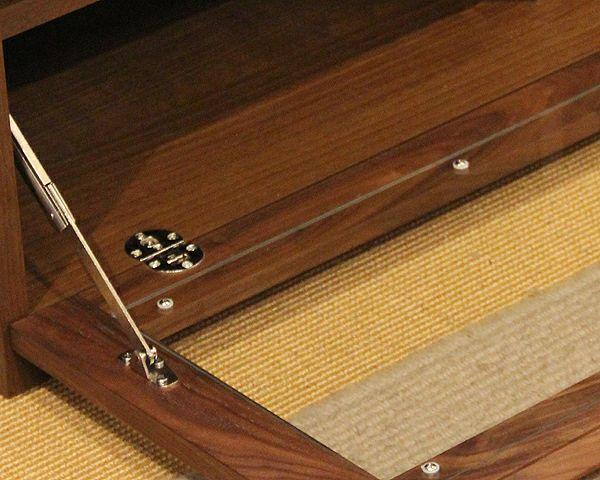 お好みに並べ替えできて使いやすい木製テレビボード・テレビ台 210cm幅(ウォールナット)_詳細03