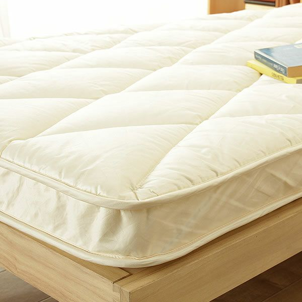 ベッドにぴったりサイズの快適敷き布団ダブルサイズ(138×198cm)_詳細03