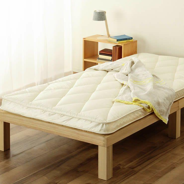 ベッドにぴったりサイズの快適敷き布団ダブルサイズ(138×198cm)_詳細18