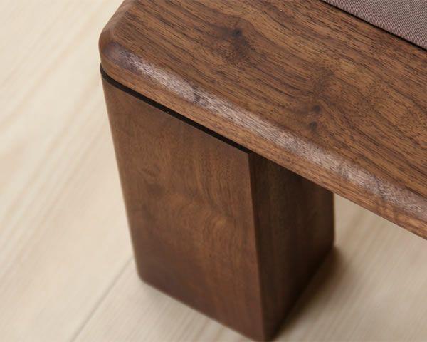 和の風格たっぷり ウォールナットの畳ベッドフラット(ロータイプ) シングルサイズ_詳細03