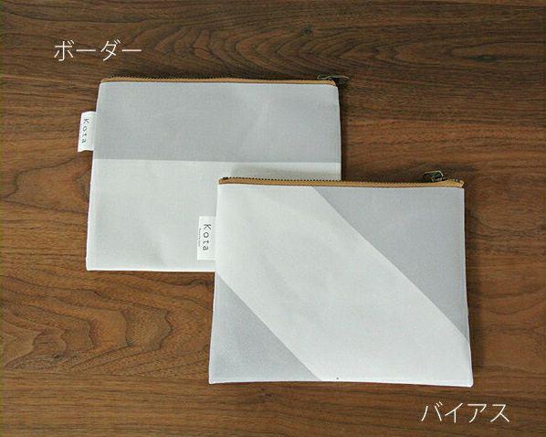 SyuRo(シュロ)kotaポーチ グレーMサイズ(1個)_詳細01