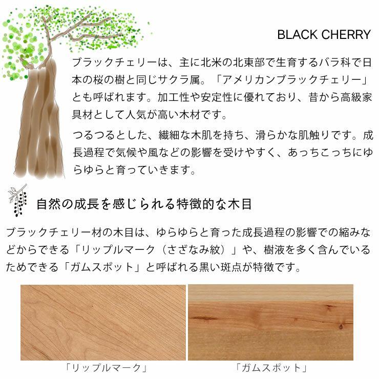 ブラックチェリー材とウォールナット材使用したおしゃれなオリジナルデザインの こたつテーブル長方形120cm幅_詳細05