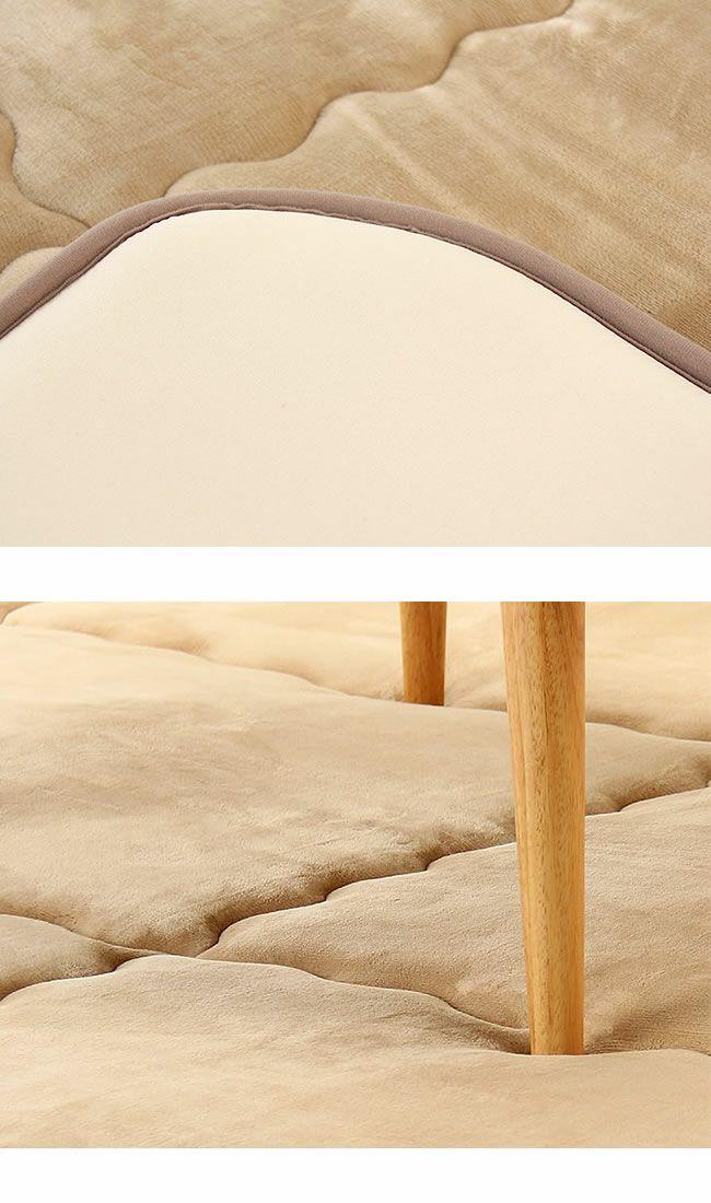ふっくら心地良く暖かい敷き布団 190cm×190cm「正方形75~90cm」用_詳細03