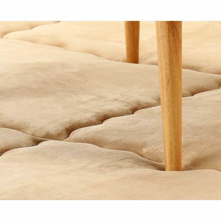 ふっくら心地良く暖かい敷き布団 190cm×190cm「正方形75~90cm」用_詳細14