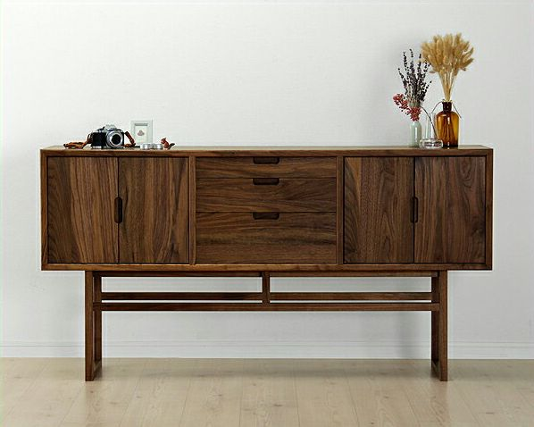 こだわりの詰まった木製リビングボード157cm幅「salvia(サルビア)」_詳細01