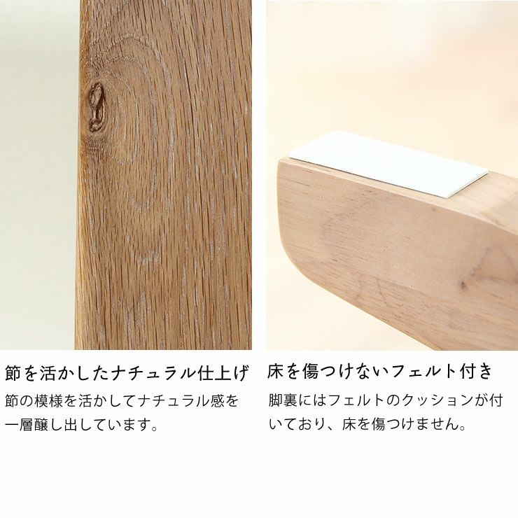 どっしりとした重厚感のガス圧式フットペダル昇降テーブル幅130cm_詳細10