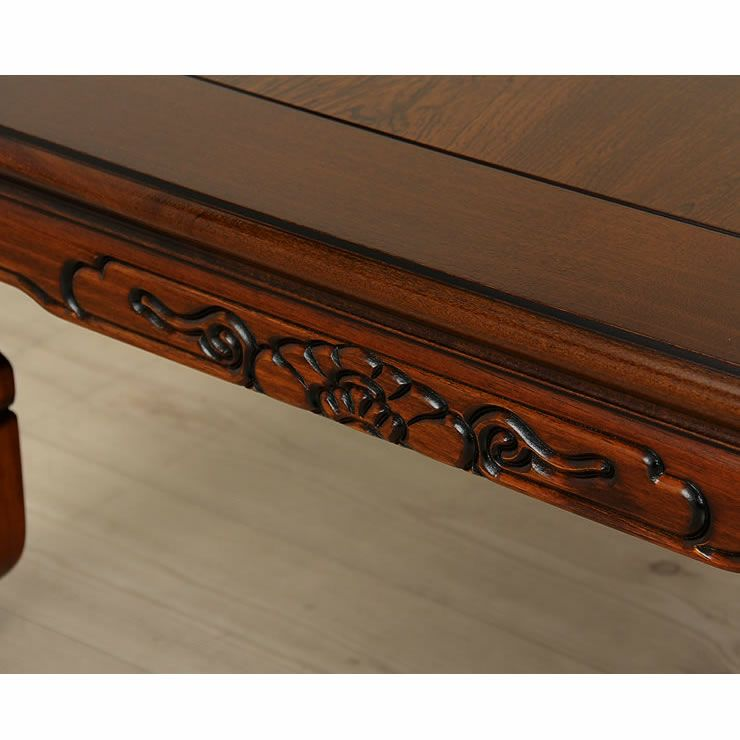 こたつテーブル 長方形120cm幅 栓材_詳細18