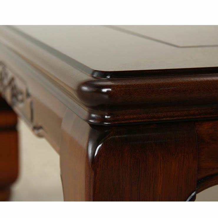 こたつテーブル 長方形120cm幅 栓材_詳細19