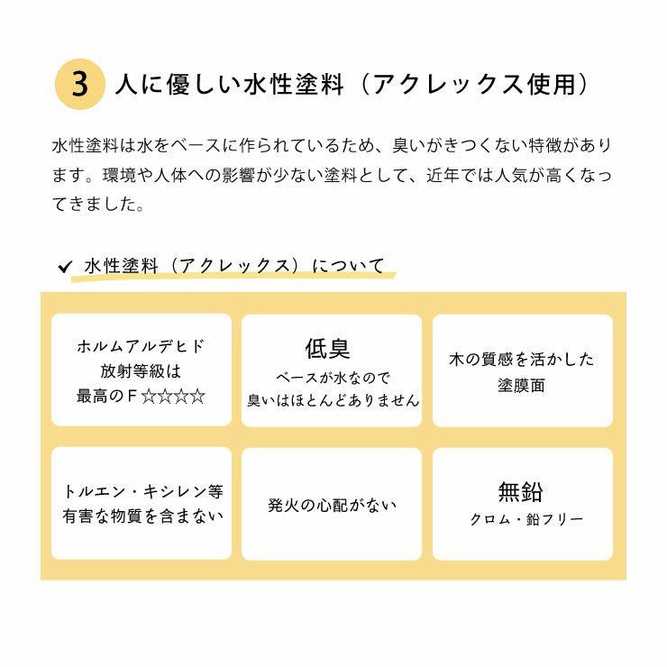 生活スタイルに合わせて変化する三段ベッド(上段+中段+下段)_詳細16