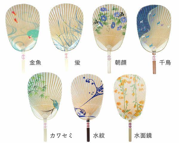 カミノシゴト(家田紙工)水うちわ小判型(1枚)_詳細02
