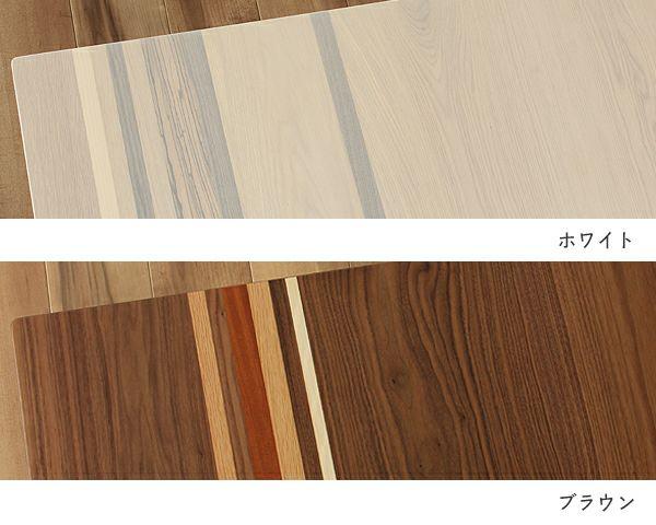 こたつテーブル 長方形120cm幅 天然杢5種_詳細02