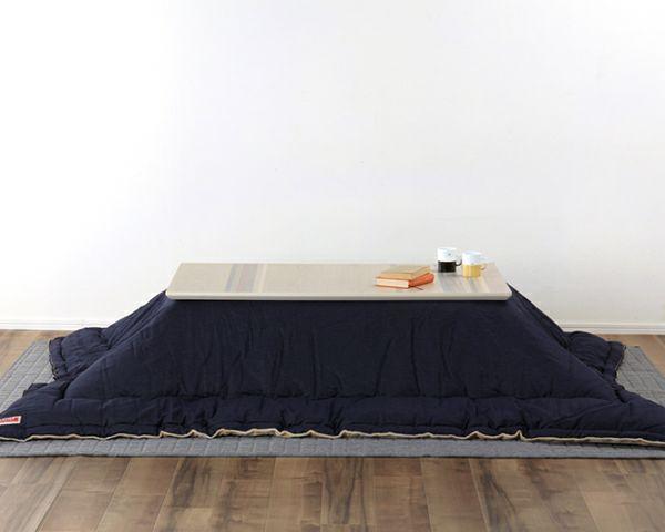 こたつテーブル 長方形120cm幅 天然杢5種_詳細03