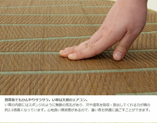 い草 ラグ い草ランチョンマット「OtO」 プレイスマット(47×35cm)_詳細06