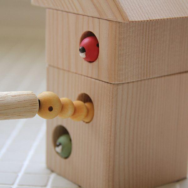 夢工房ももたろう木のおもちゃ「ひっつきむしの家」_詳細03