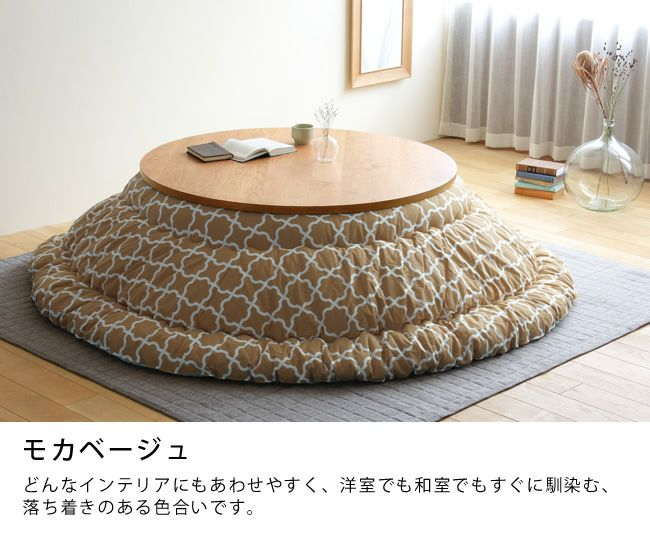 京都の老舗布団工場がつくるこたつ布団