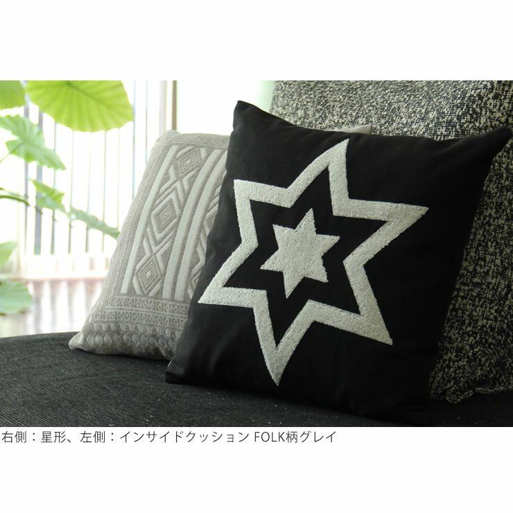 刺繍のクッション43×43_詳細07