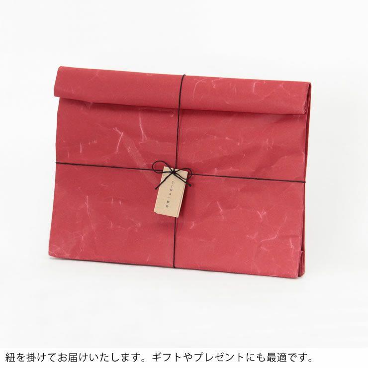 SIWA(シワ)クラッチバッグWide(デザイナー:深澤直人)_詳細15