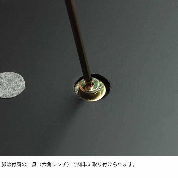 こたつテーブル 長方形110cm幅 オーク材_詳細11