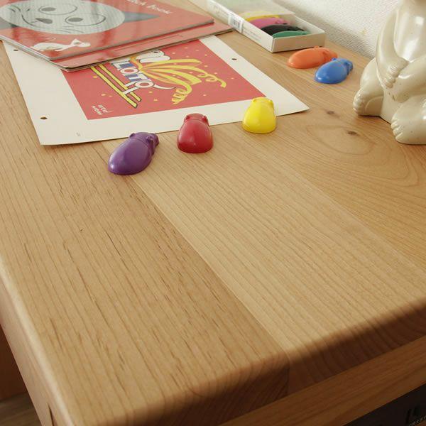 お部屋に合わせてサイズが選べるシンプルでスリムな学習机セット(幅150~180×奥行40×高73cm)_詳細03