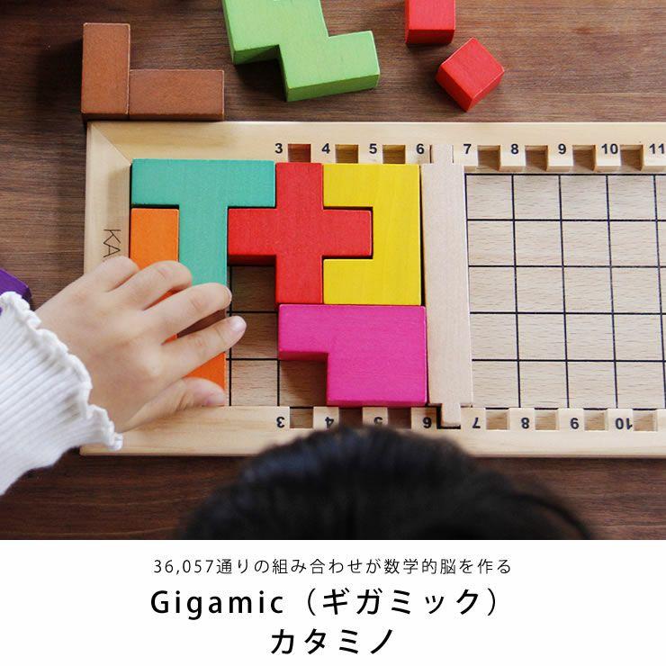 Gigamic(ギガミック) KATAMINO カタミノ (3Dパズル問題集付)_詳細04