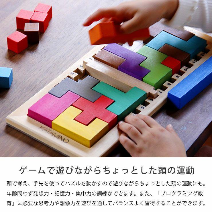 Gigamic(ギガミック) KATAMINO カタミノ (3Dパズル問題集付)_詳細05