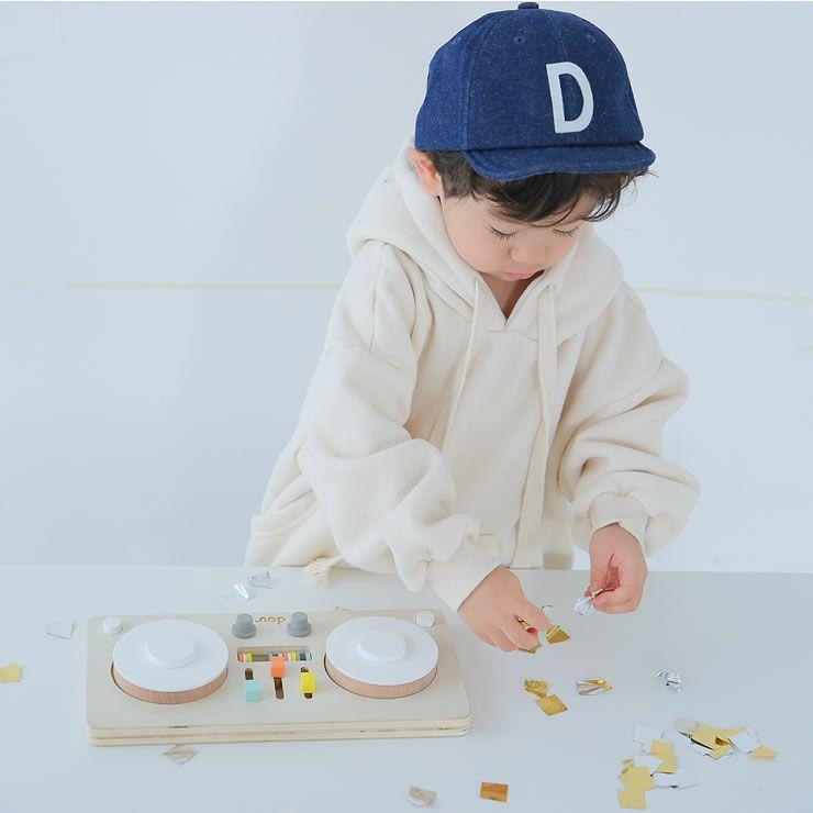 ターンテーブル型楽器のおもちゃ「dou?」LITTLEDJ 木のおもちゃ_詳細14