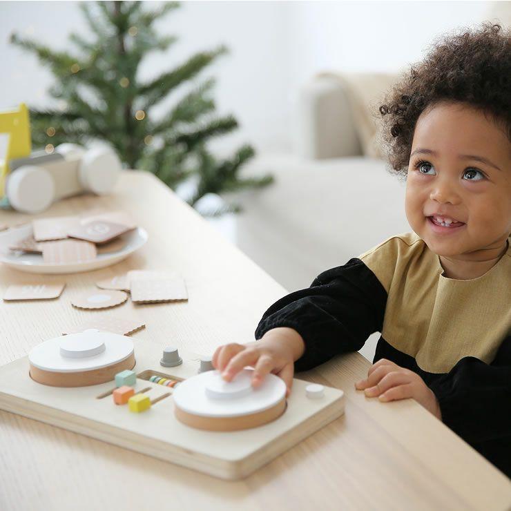 ターンテーブル型楽器のおもちゃ「dou?」LITTLEDJ 木のおもちゃ_詳細15