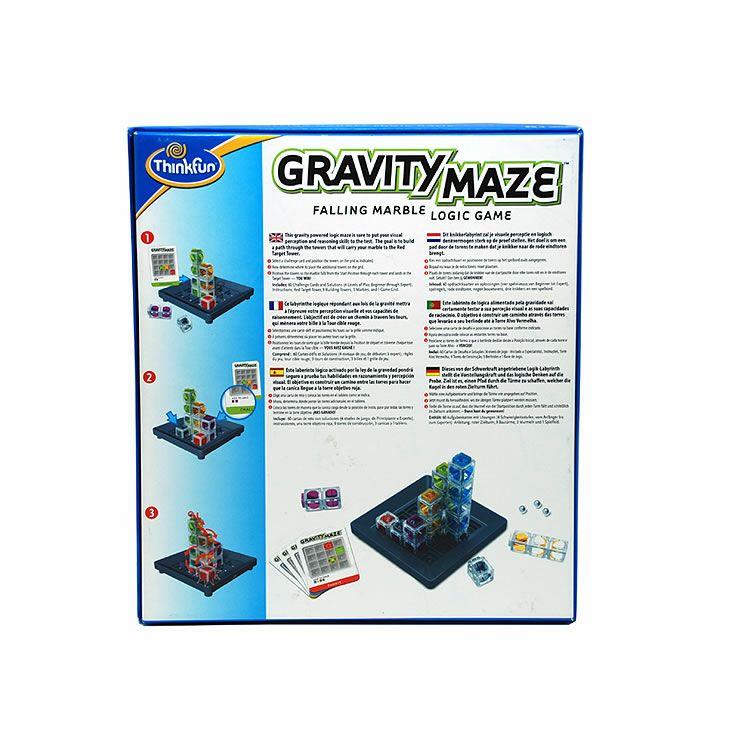 ThinkFun(シンクファン) Gravity Maze グラビティ・メイズ (オリジナル問題カード付)_詳細16